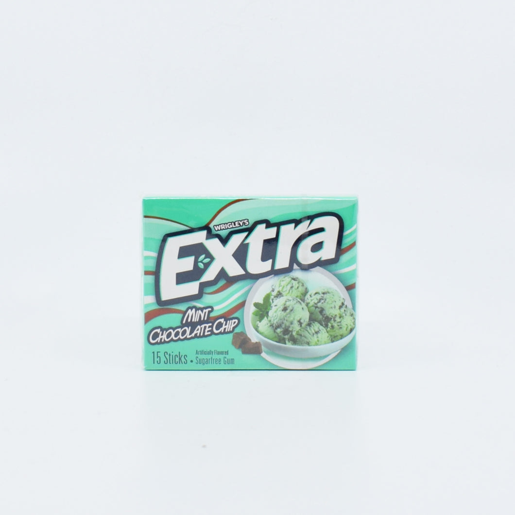 Wrigley's Extra Mint Chocolate Chip (15 Sticks) - Bel & Brio Shop Online | Supermarket , Bottle Shop , Restaurant Deliveries