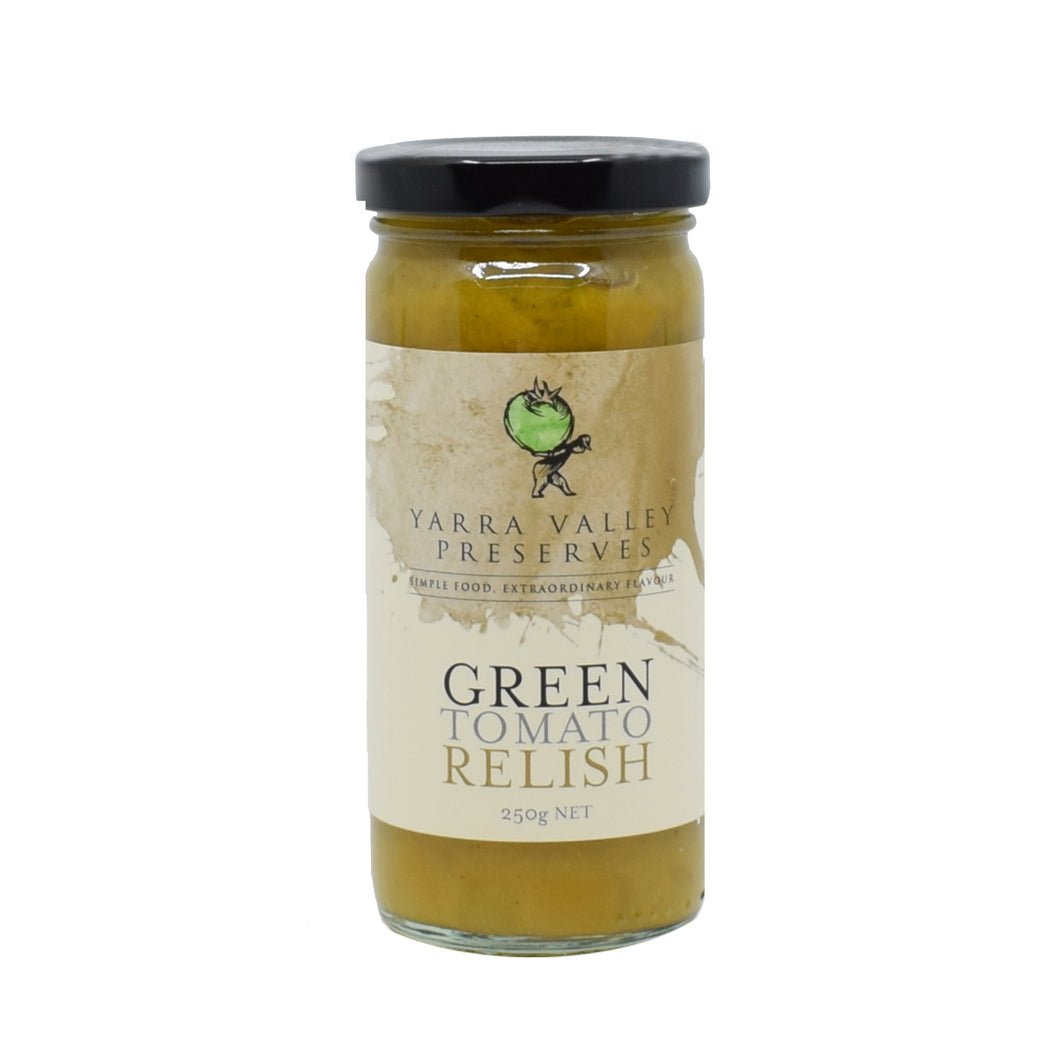 Yarra Valley - Green Tomato Relish 250g - Bel & Brio Shop Online | Supermarket , Bottle Shop , Restaurant Deliveries