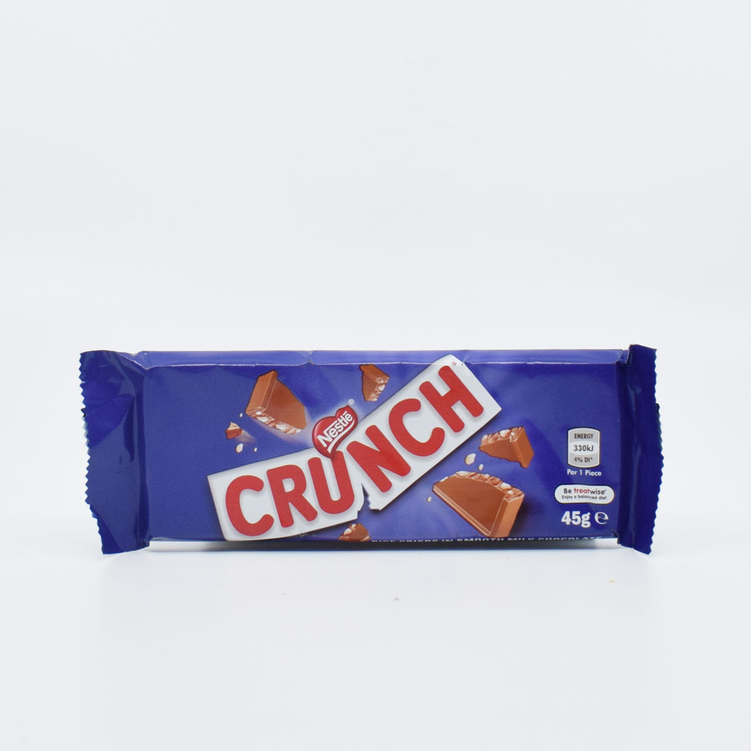 Nestle Crunch Bar 45g - Bel & Brio Shop Online | Supermarket , Bottle Shop , Restaurant Deliveries