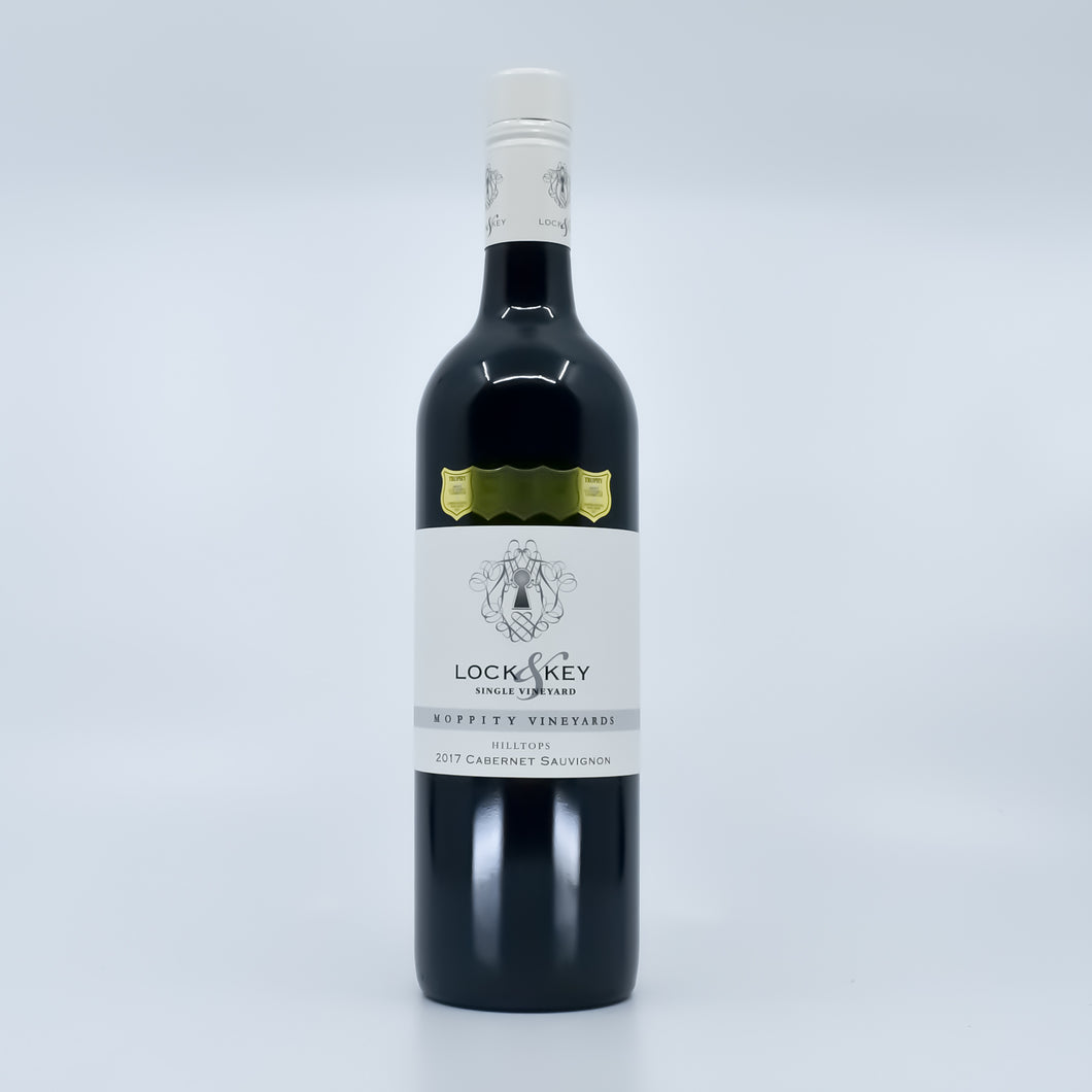 Lock & Key Single Vineyard Hilltops 2017 Cabernet Sauvignon (Young AU) - Bel & Brio Shop Online | Supermarket , Bottle Shop , Restaurant Deliveries