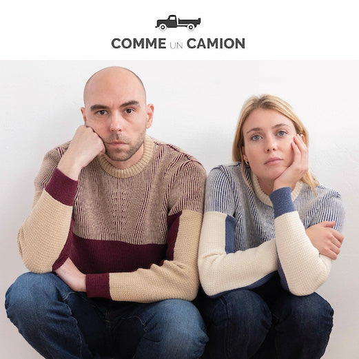 COMME UN CAMION : HABILE LANCE SA COLLECTION CAPSULE EN MAILLE
