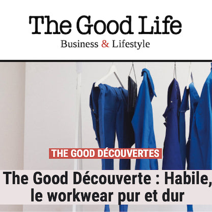 extrait de larticle the good découverte: HABILE le workwear pu et dur
