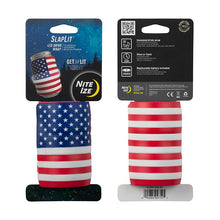 Load image into Gallery viewer, Nite Ize SlapLit LED Drink Wrap - USA