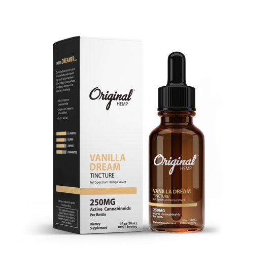 Load image into Gallery viewer, Original Hemp Vanilla Dream Tincture - Inno Medicinals | Innovative CBD Products for Health & Wellness