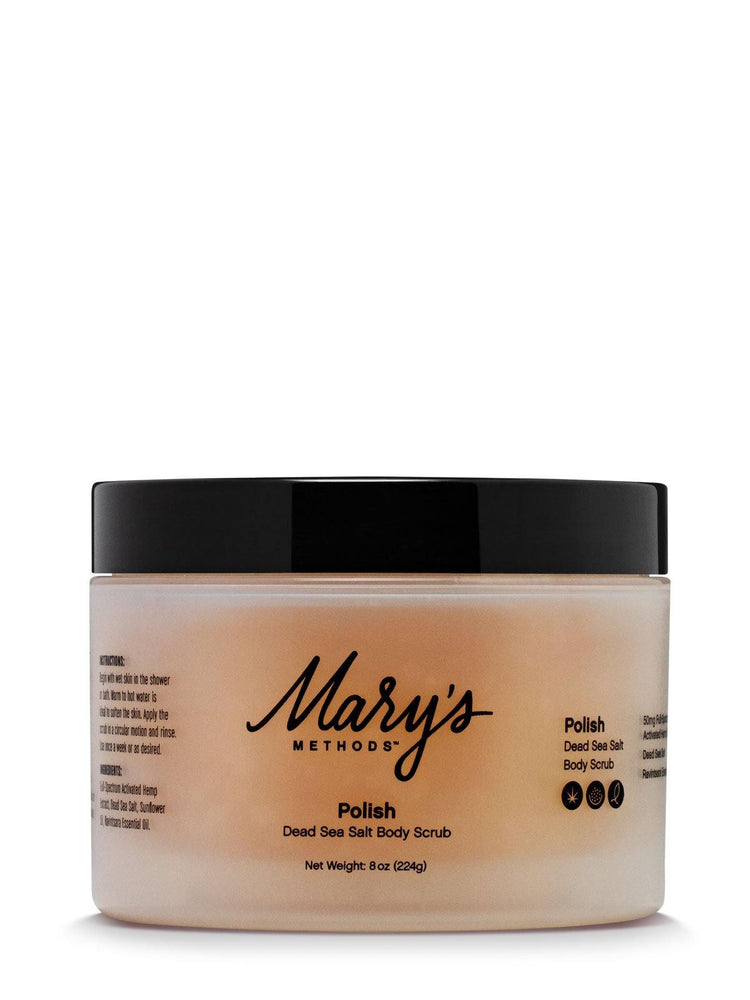 Load image into Gallery viewer, Mary's Methods - POLISH CBD Body Scrub 100mg - Inno Medicinals | Innovative CBD Products for Health & Wellness