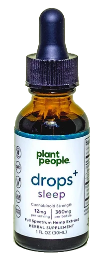 Plant People Sleep drops 720mg - Inno Medicinals | Innovative CBD Products for Health & Wellness