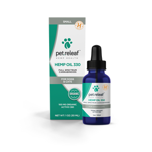Pet Releaf - Hemp Oil 330 - Inno Medicinals | Innovative CBD Products for Health & Wellness