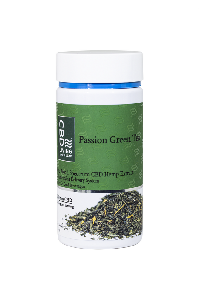 CBD Living Passion Green Tea 250mg - Inno Medicinals | Innovative CBD Products for Health & Wellness