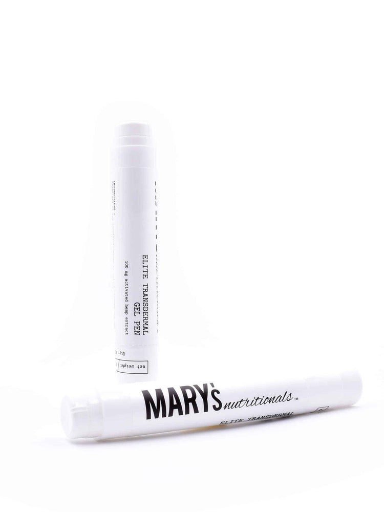 Mary's Nutritionals Transdermal Gel Pen 100mg - Inno Medicinals | Innovative CBD Products for Health & Wellness
