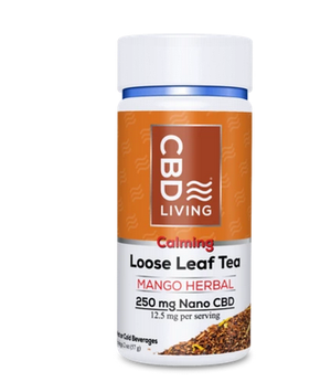 CBD Living Mango Herbal Tea 250mg