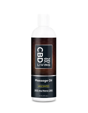 CBD Living CBD Massage Oil 300mg