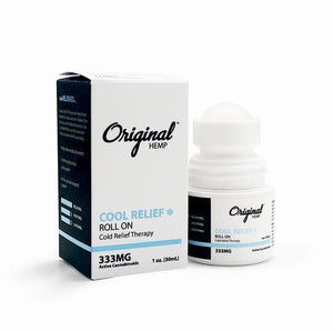 Original Hemp Roll-On Cool Relief - Inno Medicinals | Innovative CBD Products for Health & Wellness