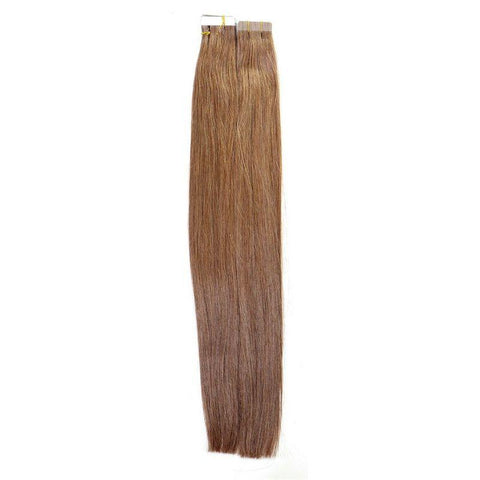 Chestnut Brown Tape-In Brazilian Extensions