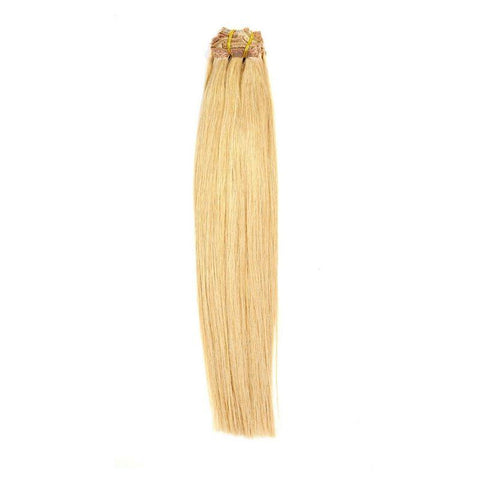 Dirty Blonde Clip-in Brazilian Extensions