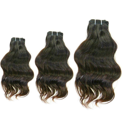 Indian Raw Wavy Hair Bundle Deal