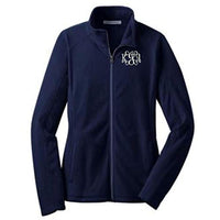 Lane Weston Monogrammed Women's Microfleece Jacket with Pockets