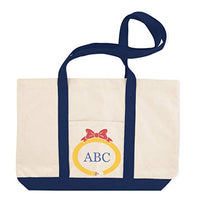 Custom Canvas Shopping Tote Personalized Monogram School Teacher Pencil R Lid Beach Bags for Women