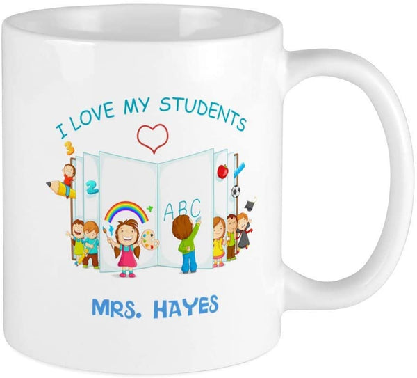 Personalised Teacher Coffee in my Cup Friend Golden Coffee Mug For Religious Gift For Her Ceramic Mug For Spiritual Gift Idea ABCDE0689