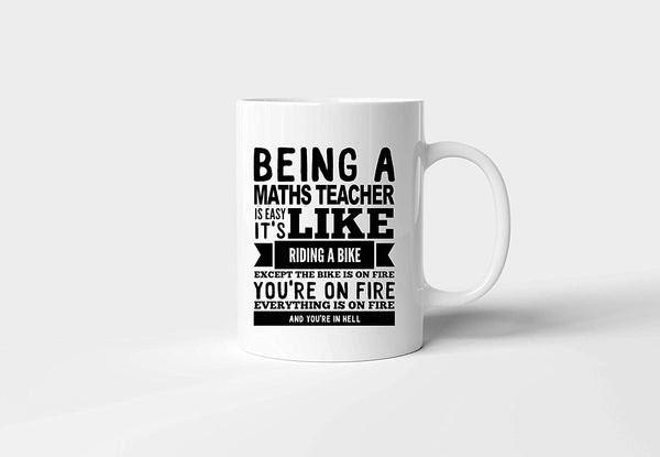 Being a teacher doctor mechanical Novelty Gift Printed Tea Coffee Ceramic Mug personalised