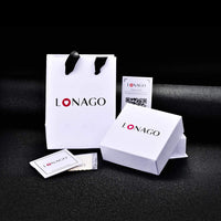 LONAGO 925 Sterling Silver Personalized Name Stud Earring Custom Name Earrings—Customize Your Own Earring with Name