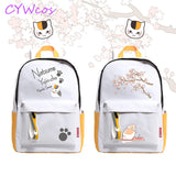 Anime Natsume Yuujinchou Cosplay Backpack Cat Teacher Madara Natsume Cosplay Shoulder Bag Student Backpacks