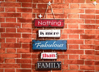 Creative Household Adornment Metope Listed Series American Retro Wooden Wall Hanging Character Classic Sayings