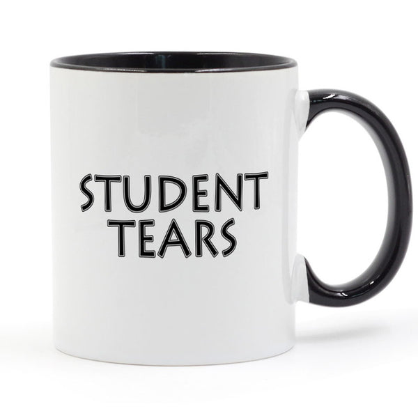Student Tears teacher Mug Coffee Milk Ceramic Cup Creative DIY Gifts Home Decor Mugs 11oz T1238