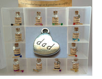 Personalised message in a bottle. Ideal gift or card alternative. Handmade. L 1