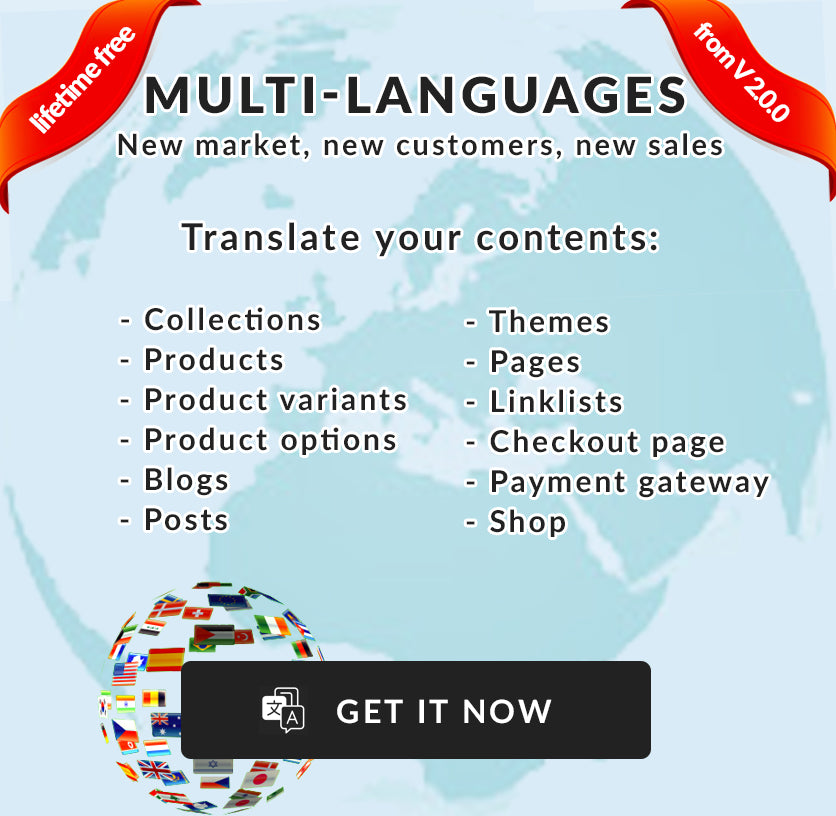 Shopify theme multiple languages