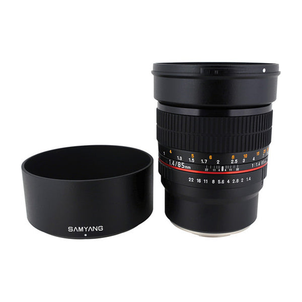 Samyang 85mm f/1.4 Aspherical IF Lens for Fujifilm X-Mount Cameras