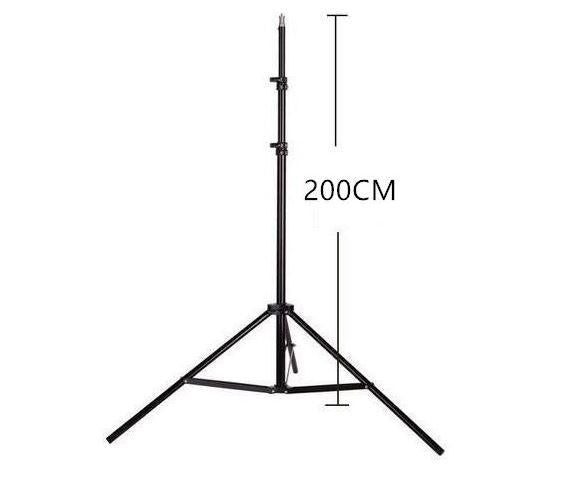 6ft Light Stand for Studio Photography and Lights with 1/4 Thread 183cm 6 foot