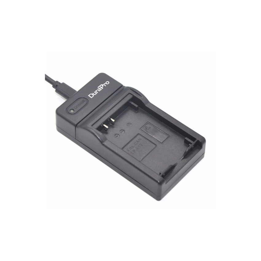 DuraPro USB Camera Battery Charger For Canon LP-E12 Battery