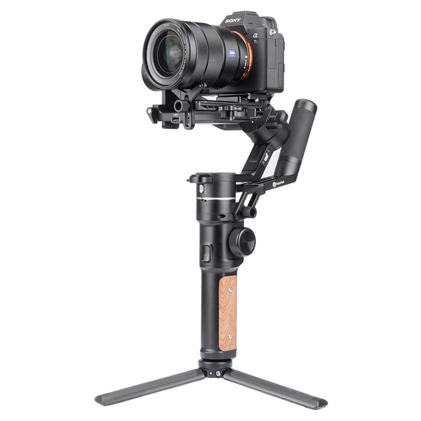 Feiyu AK2000 S Ak2000S 3 Axis Handheld Gimbal Stabilizer for Sony a9 a7 ii a6500 Series Canon 5D Panasonic GH5 GH4 Nikon D850 Mirrorless and DSLR Digital Camera, Smart Touch Panel Feiyutech