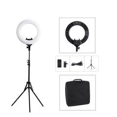 14inches R40B AC LED Ring Light with Stand Kit / Beauty Photography Lighting 14inch