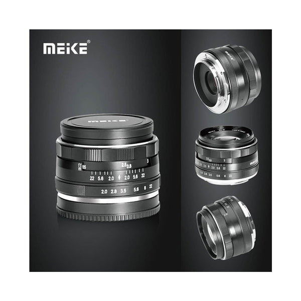 Meike 50mm f/2.0 Fixed Manual Focus Lens for Canon EF-M