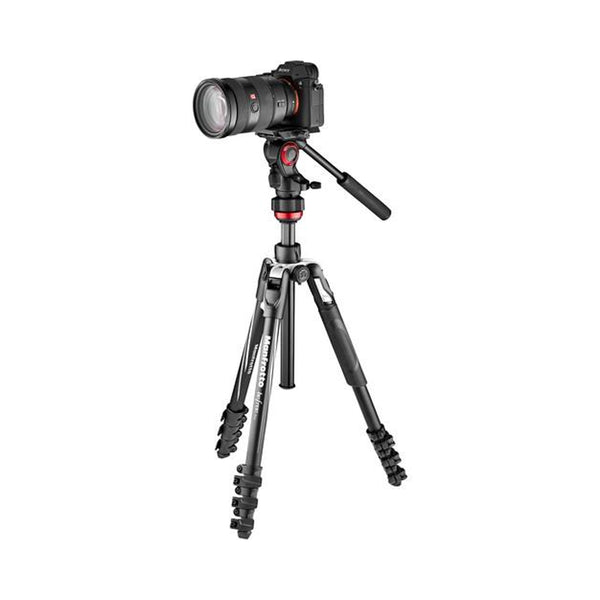 Manfrotto Befree Live Aluminum Lever-Lock Tripod Kit with EasyLink & Case MVKBFRL-LIVE