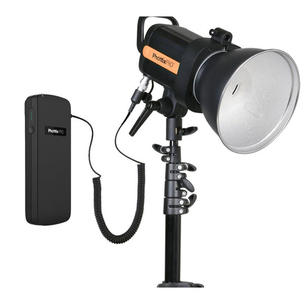 Phottix Indra 360 TTL Studio Light and Battery Pack Kit (00206 , PH00206)