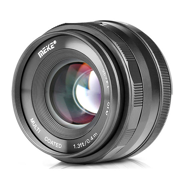 Meike 35mm f/1.4 Lens for FUJIFILM X Mount with FREE LENS HOOD MK-35mm Fuji 35 1.4