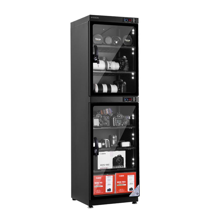 Andbon AD-180S Electronic Automatic Digital Control Dry Cabinet Storage 180s 180L