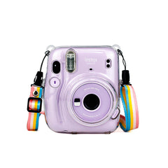 Fujifilm Instax Mini 11 Transparent Protective Crystal Case Cover Fuji Mini11 Clear CASE ONLY