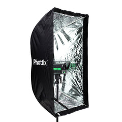 Phottix Easy Up HD Umbrella Softbox with Grid 60x90cm / 24x35 Inches (82494 , PH82494)