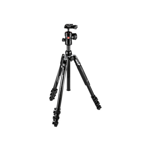 Manfrotto Befree Advanced Aluminum Travel Tripod lever, ball head (MKBFRLA4BK-BH)