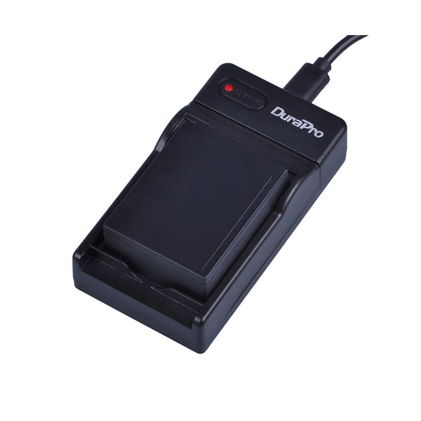 DuraPro USB Camera Battery Charger For Fujifilm NP-W126 Battery