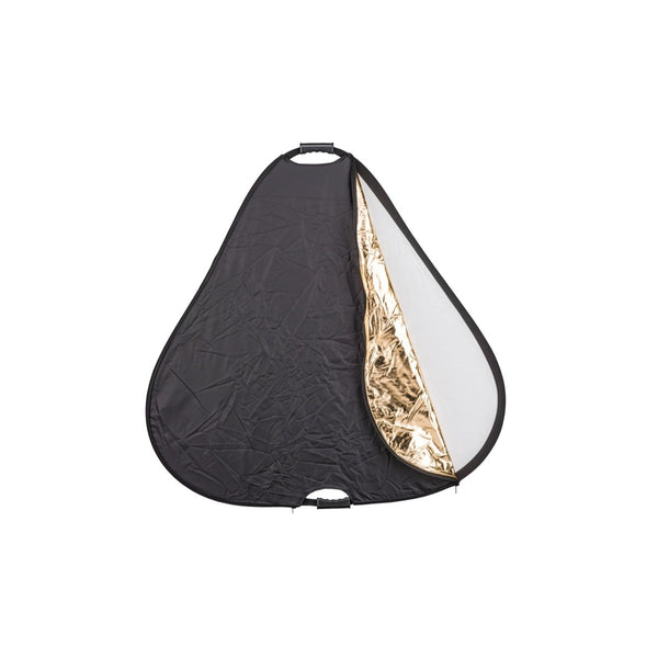 Phottix 5 in 1 Premium Triangle Reflector with Handles Holder 80cm / 32 Inches (86491 , PH86491)