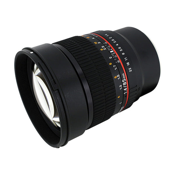 Samyang 85mm f/1.4 Aspherical IF Lens for Sony E-Mount Cameras