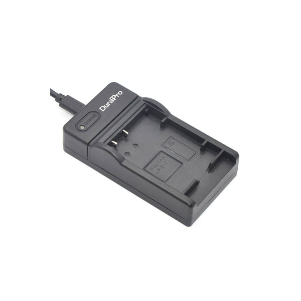 DuraPro USB Camera Battery Charger For Canon LP-E17 Battery