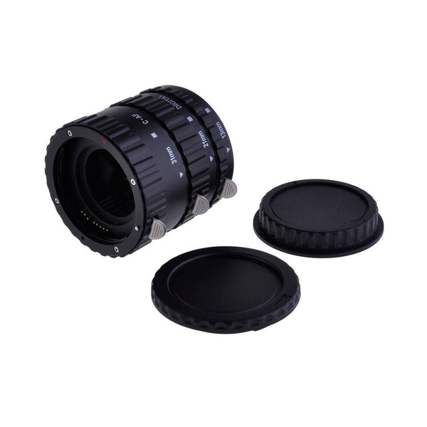 MEIKE MK-C-AF1-B  Auto Focus Macro Extension Tube Set for Canon DSLR Camera (Plastic)