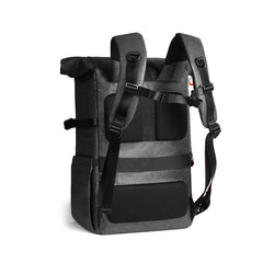 "K&F Concept Camera Backpack Waterproof Photography 15"" Laptop Compartment for SLR/DSLR Camera, Lens and Accessories with Rain Cover KF13.096"