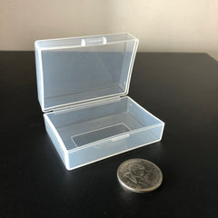 Plastic Case Holder Protective Storage Box For SLR Camera Battery