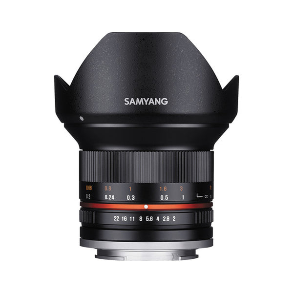Samyang 12mm f/2.0 NCS CS Lens for Micro Four Thirds Mount (Black)